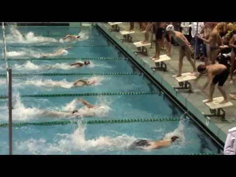 200m free style relay @ East Los Angeles College
