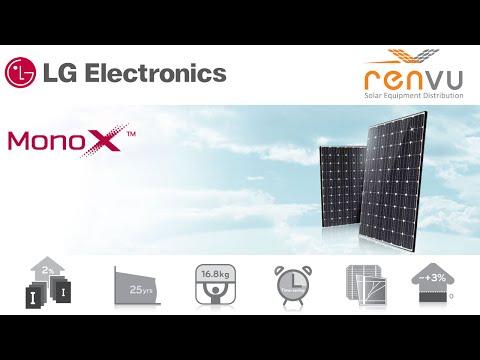 LG Electronics MonoX NeON High Efficiency Solar Module Introduction Video | RENVU