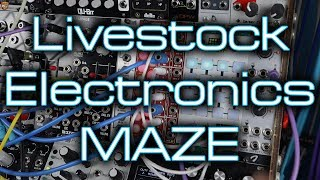 Livestock Electronics MAZE - Sequential Attenuverting Matrix Mixer & Signal Router in Eurorack