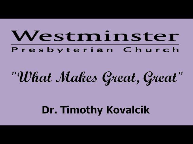 WPC Sermon 10 25 20