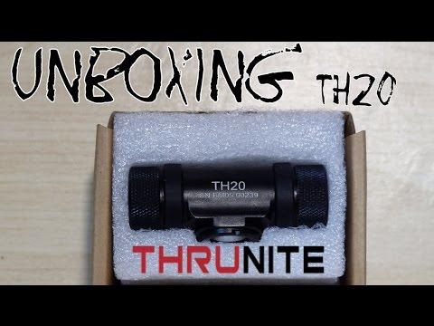 Unboxing ThruNite TH20 Teil 1/2 | HD+ | Deutsch