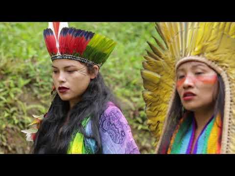 Eskawatã Kayawei Opening Prayer - Txana Tuwe, Txana Yube, Biruany & Natxuany @ Heart & Mind Festival