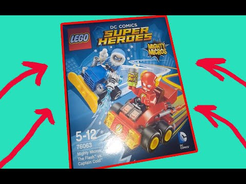 Lego DC COMICS ОБЗОР
