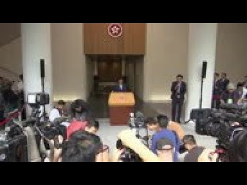 Carrie Lam on Hong Kong economy suffering