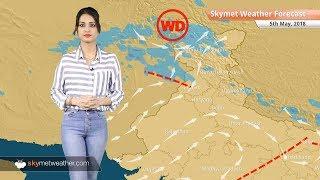 Weather Forecast for May 5: Rain in Bengaluru, Hyderabad, hot in Rajasthan, Vidarbha