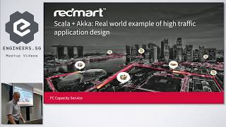 Scala + Akka: Real world example of high traffic application design - Singapore Scala Programmers