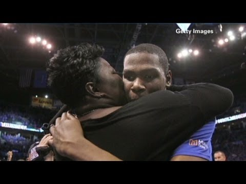 Kevin Durant's mom: It was overwhelming
