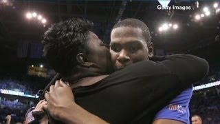 Repeat youtube video Kevin Durant's mom: It was overwhelming