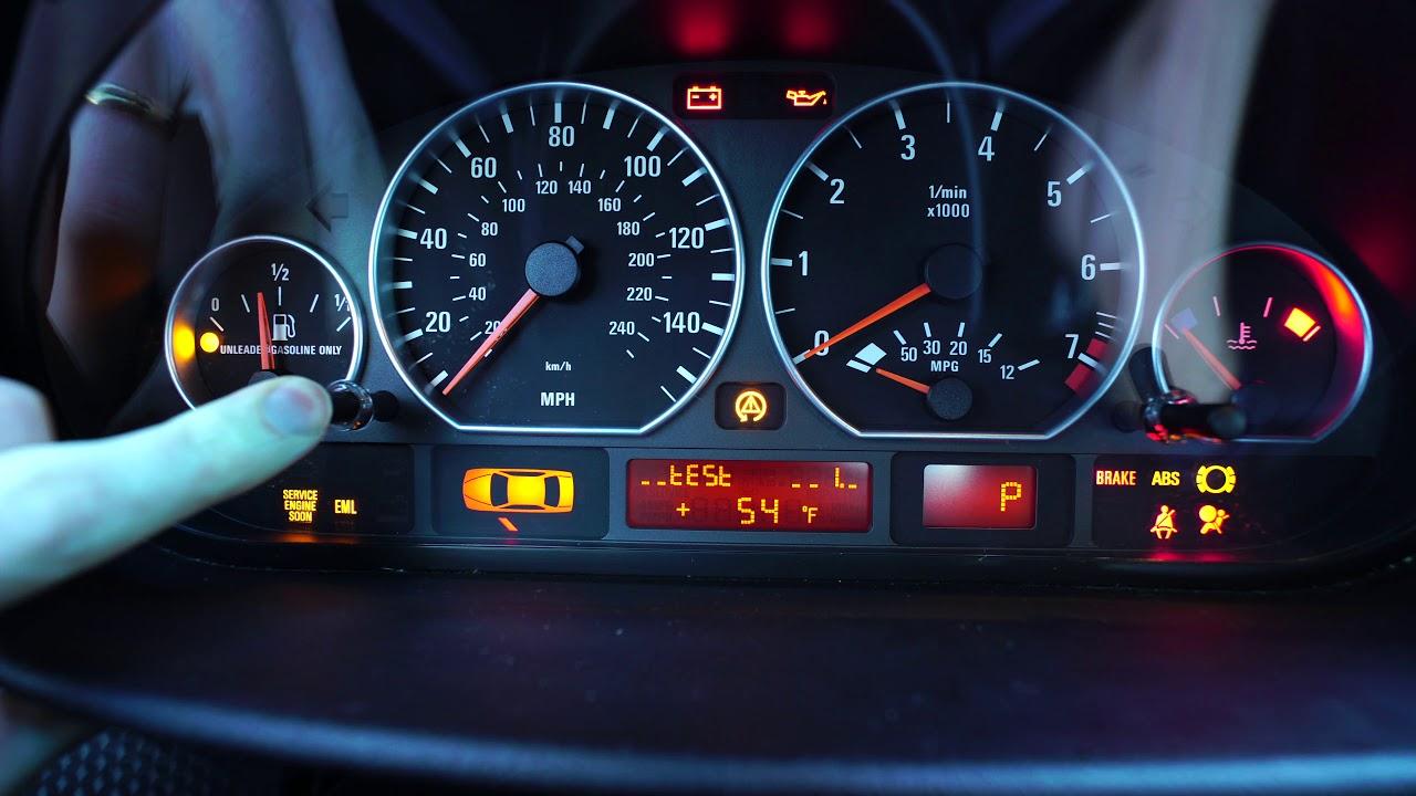 E46 Bmw Service Interval Oil Inspection Light Reset