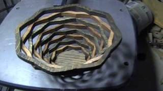 Make A Bowl Using A Scroll Saw