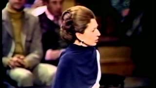 Maria Callas 'London Farewell Concert' at the Royal Festival Hall with Giuseppe di Stefano, 1973