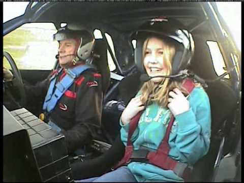 katya in colin mcrae s subaru impreza 555 youtube