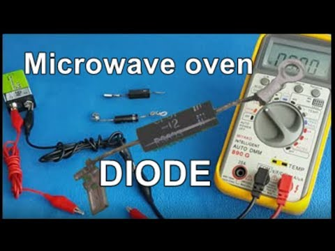 How To Test A Microwave Oven High Voltage Diode