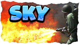 Flammenwerfer 2.0! | 16 | MINECRAFT SKY