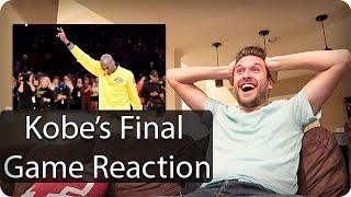 Kobe Bryant's Final NBA Game | Epic Reaction Video