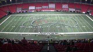 Liberty University Marching Band - BOA Exhibition Performance 2014