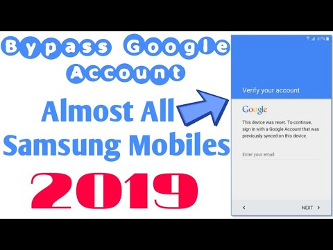 Bypass Google Account Samsung Galaxy A8Pro, A9, A7 2018, J4, J6, J8 by  GsmTech Support