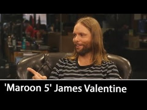 'Maroon 5' guitarist James Valentine [Interview] | August 2016