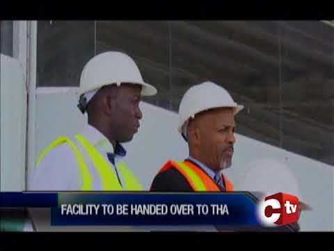 Rehabilitation Works To The Dwight Yorke Stadium Have Begun