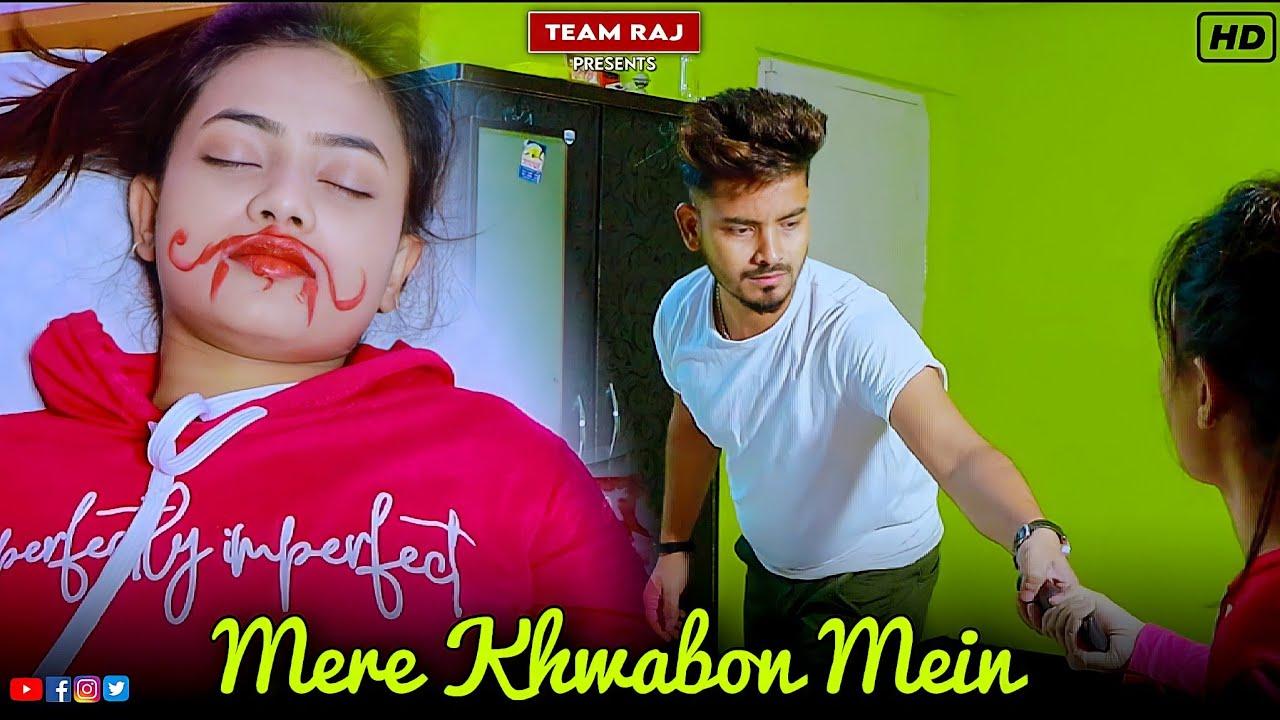 Mere Khwabon Mein Jo Aaye | Shahrukh Khan| Ft.Ruhi | Cute Love story | Team Raj