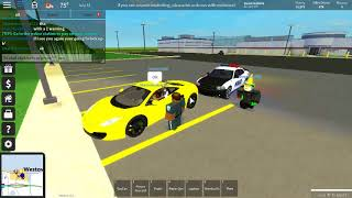 Roblox| Unlimted driveing Police Roleplay EP 1