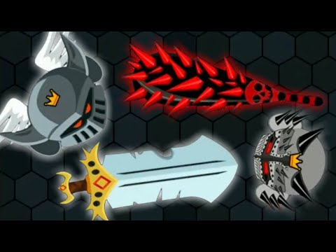EvoWars.io Dark Knight! Evolutions Unlocked 25/25 (How to Get High Score) #2