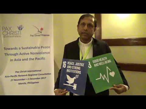 Asia-Pacific 2017 Consultation - Fr. Stephen Fernandes, India #SDG16 #SDG3