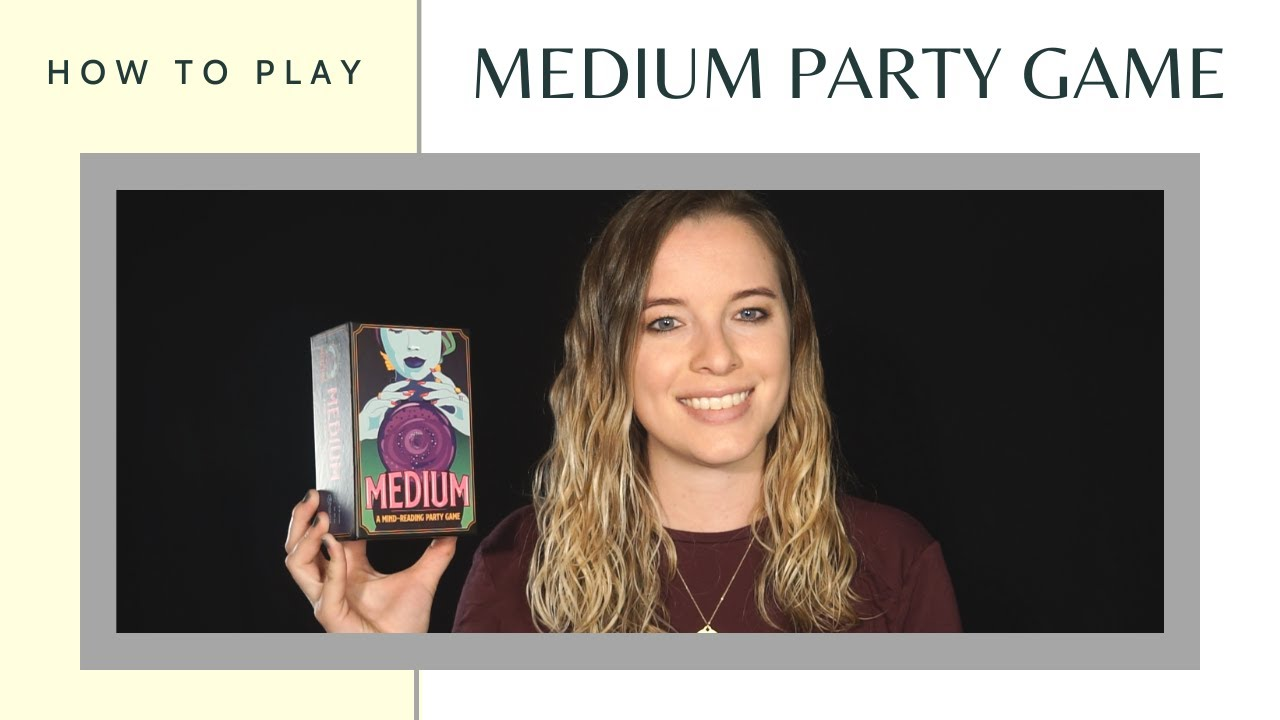 How to Play the Medium Mind Reading Party Game