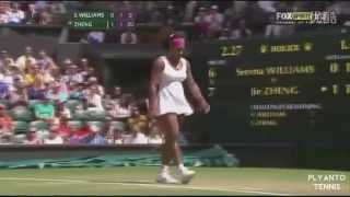 Serena Williams The Fastest 6 Forehand Returns