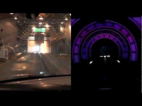 Test Track Side by Side Comparison - Original 1.0 Versus New 2.0 at Disney's Epcot