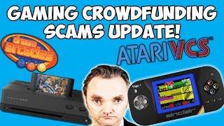 Gaming Crowdfunding Scams Update! Atari VCS, ZX Spectrum Vega+ & More!