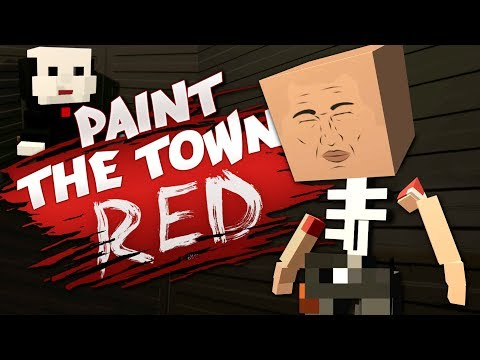 LETS PLAY A GAME - Best User Made Levels - Paint the Town Red