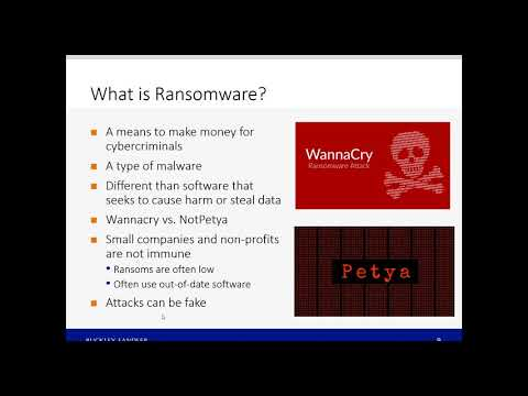 Ransomware – A Security Risk for You and Your Organization