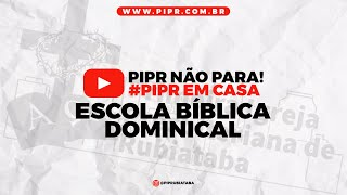 ESCOLA DOMINICAL- 21/03/21 - Institutas de João Calvino