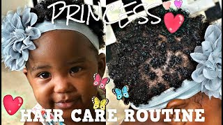 PRINCESS HAIR CARE ROUTINE | TODDLER EDITION FOR SHORT HAIR | Bubs Bee