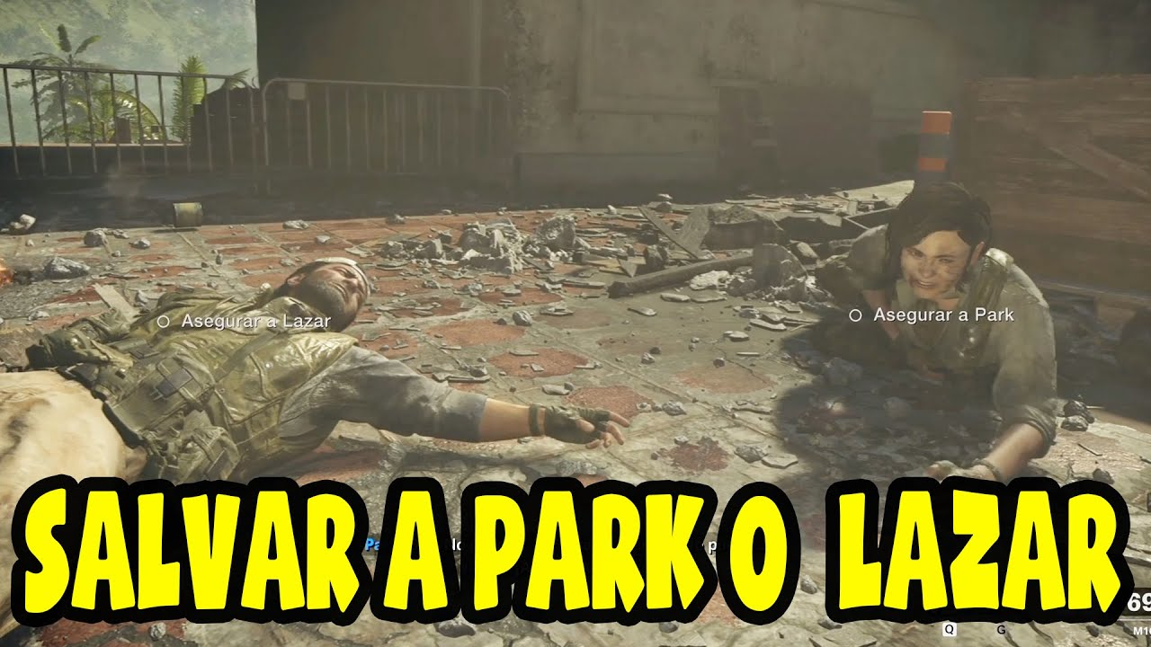 Call of Duty Black Ops Cold War - 2020 - Salvar a Park o Salvar a Lazar - En español latino - 1080p