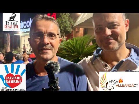 Salviamo i bambini dalla dittatura sanitaria: l'intervista a Roberto Nuzzo a Catania