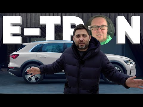 Audi E-TRON - Большой тест-драйв