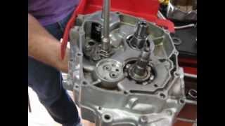 Video Aula Mecânica de Motos - Eixo Seletor de Marchas