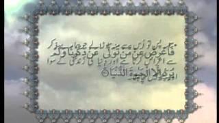 Surah Al-Najm (Chapter 53) with Urdu translation, Tilawat Holy Quran, Islam Ahmadiyya