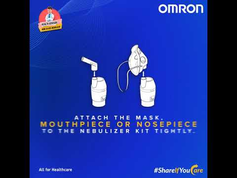 How to Use Omron Nebulizer?