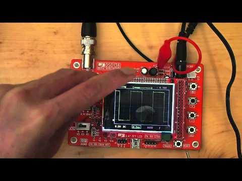DSO 138 Osc DIY Kit Probe Calibration