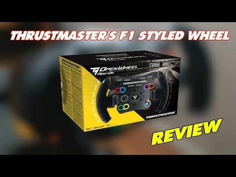 [UNBOXING] Thrustmaster: TM Open Wheel Add On Review