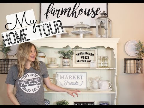 HOME TOUR 2018 | FARMHOUSE DECOR | HOME DECOR INSPIRATION
