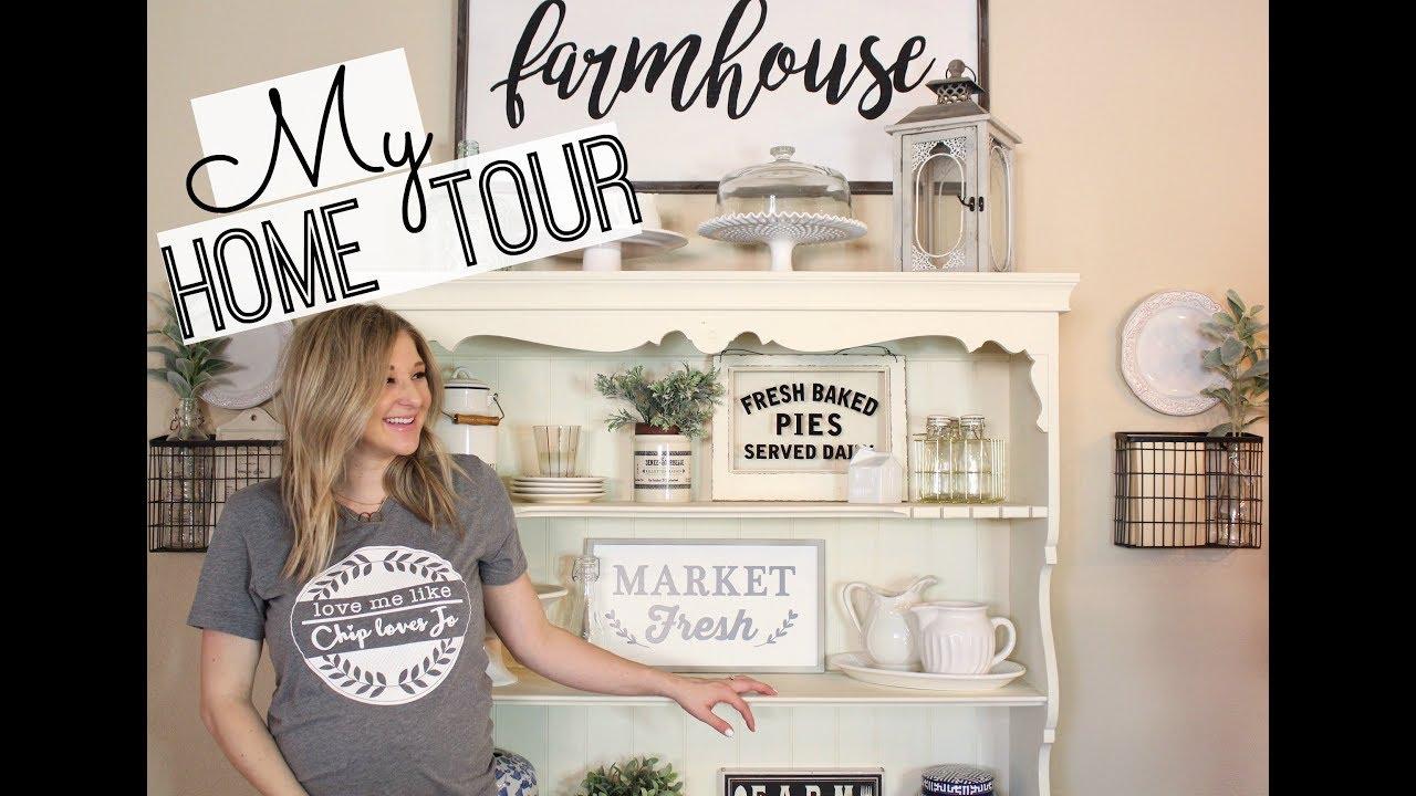 home tour 2018 farmhouse decor home decor inspiration