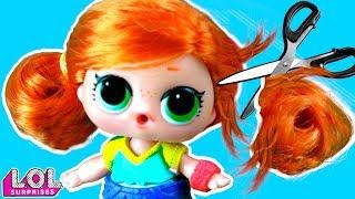 Панки В ШОКЕ! Скейти ОТРЕЗАЛА ВОЛОСЫ! Трансформация куклы лол сюрприз в салоне красоты! Мультик LOL