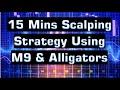 15 Mins Scalping Strategy For Boom & Crash Using M9 & Alligators