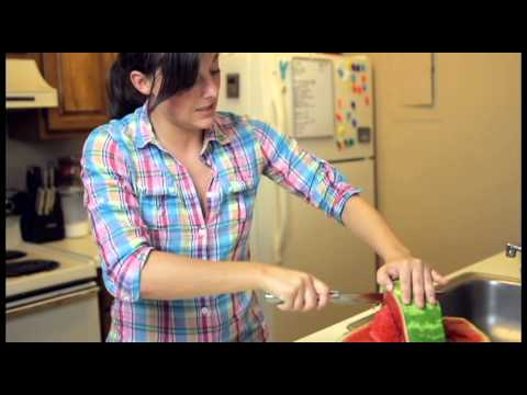 how to carve a watermelon basket the right way youtube