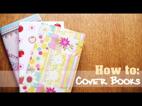 How to Cover Books without damaging them - Back to School