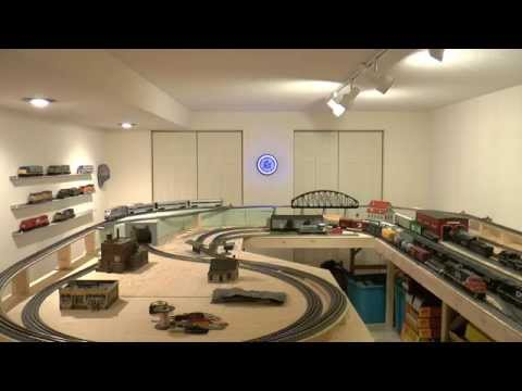 O Scale MTH Train Layout Number 2
